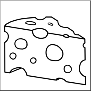 Clip art swiss b. Cheese clipart chese