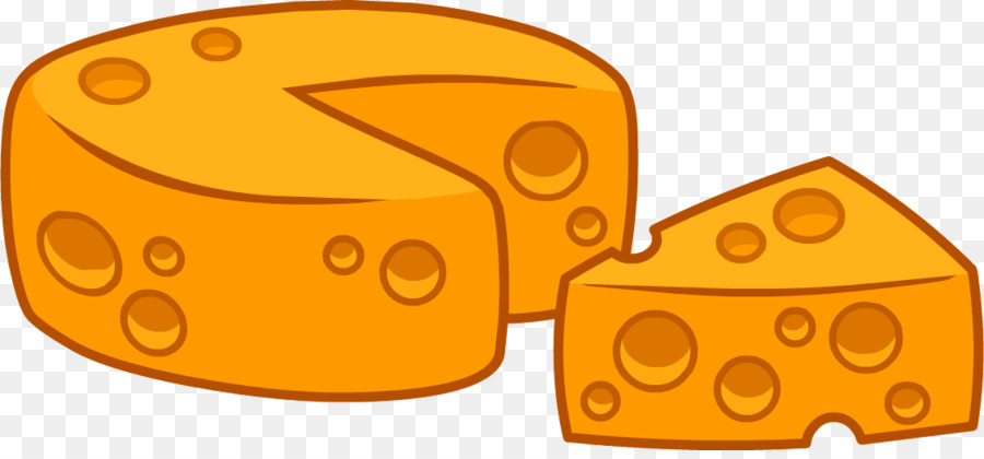 Cheese clipart chesse. Cartoon yellow orange transparent