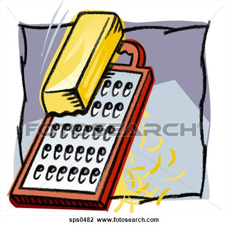 Cheese clipart grated cheese. Grating with a grater
