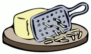 cheese clipart grated cheese