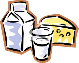 Image a glass and. Cheese clipart milk cheese