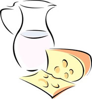 Jpg and butter dairy. Cheese clipart milk cheese
