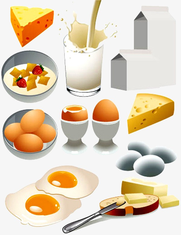 Cheese clipart milk cheese. Breakfast egg png image