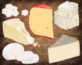 Painted camembert dorblu sulguni. Cheese clipart mozzarella cheese