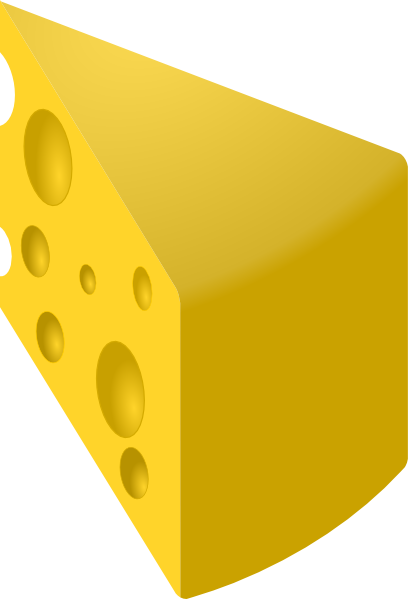 Cheese piece cheese