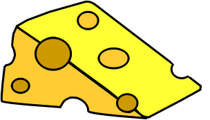 Cheese clipart piece cheese. A of icons png