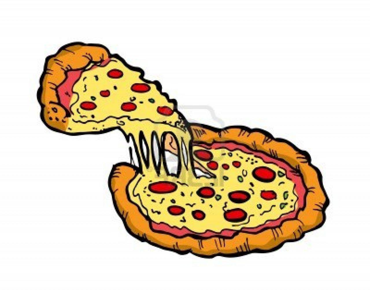 Pie clip art panda. Chips clipart pizza
