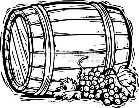 Clip art appliqu quilting. Barrel clipart wine barrel