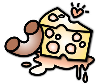 Cheese clipart silhouette. Etsy macaroni and wedge