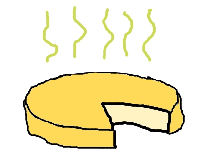 Crop away from the. Cheese clipart stinky