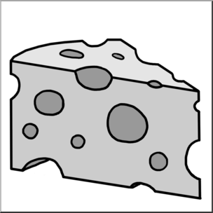 Clip art grayscale i. Cheese clipart swiss cheese