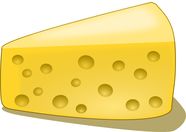 Clip art at clker. Cheese clipart swiss cheese