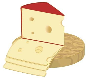 Cheese clipart vector. Free slice of and