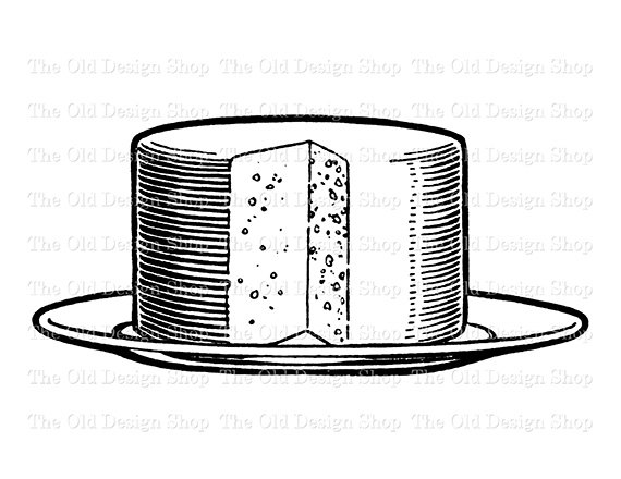 On plate food clip. Cheese clipart vintage