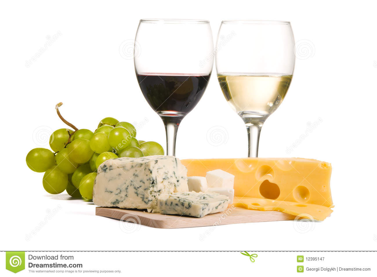 Glass and bottle wine with cheese tasty Royalty Free Vector