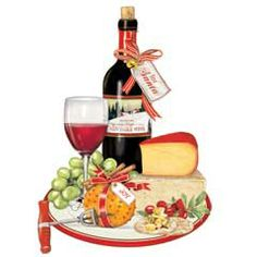 Wine and background food. Cheese clipart winery