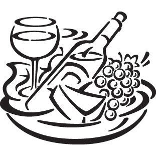 Cheese clipart winery. Fruit wine and stock