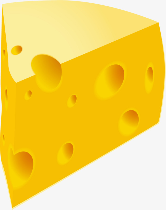 Cheese clipart yellow cheese. Hand painted circular hole