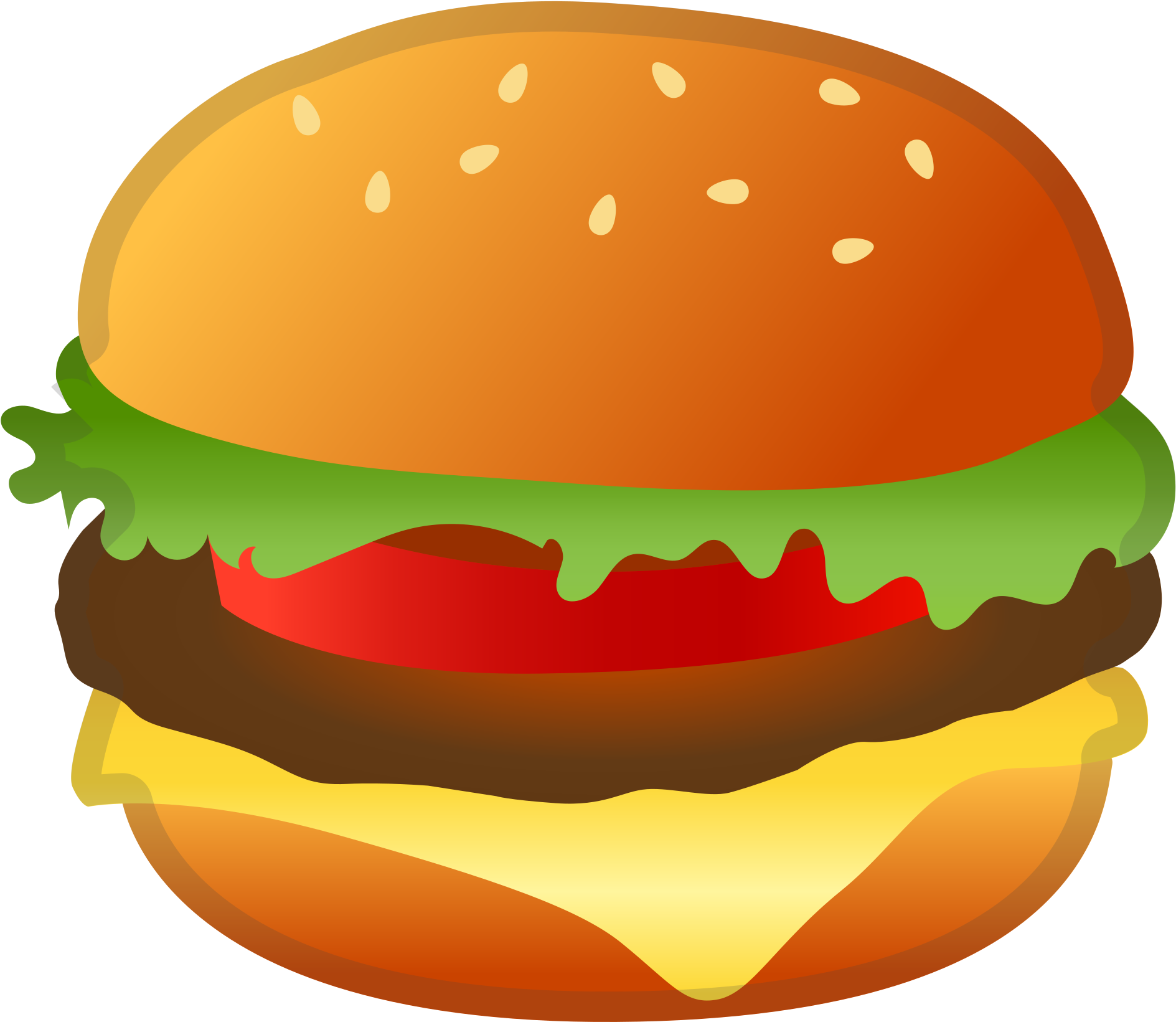 Free transparent download clip. Cheeseburger clipart