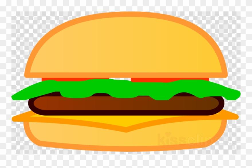 Cheeseburger clipart. Hamburger french fries png