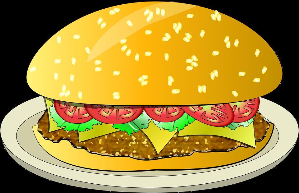 End of year th. Cheeseburger clipart bbq burger