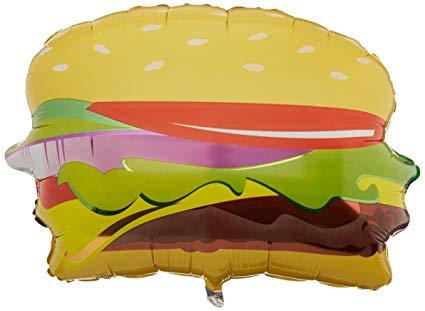 Cheeseburger clipart berger. Amazon com betallic hamburger