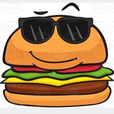 Cheeseburger clipart berger. Cal bergersnfrys twitter