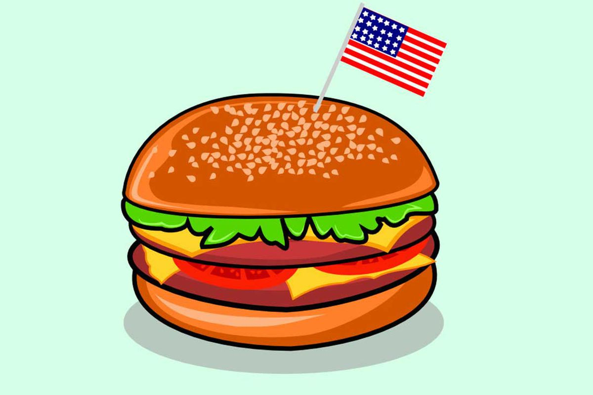 Cheeseburger clipart berger. The average price of