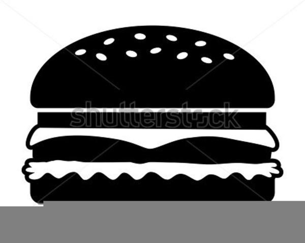 Cheeseburger clipart black and white. Hamburger free images at