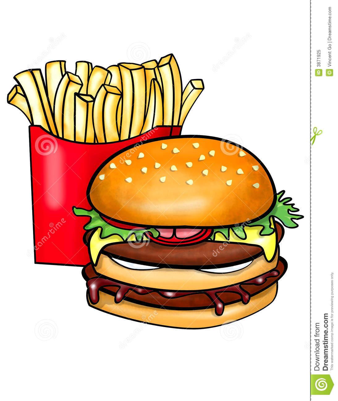 Cheeseburger burger chip