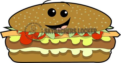 Skybacher s locker hamburger. Cheeseburger clipart cartoon
