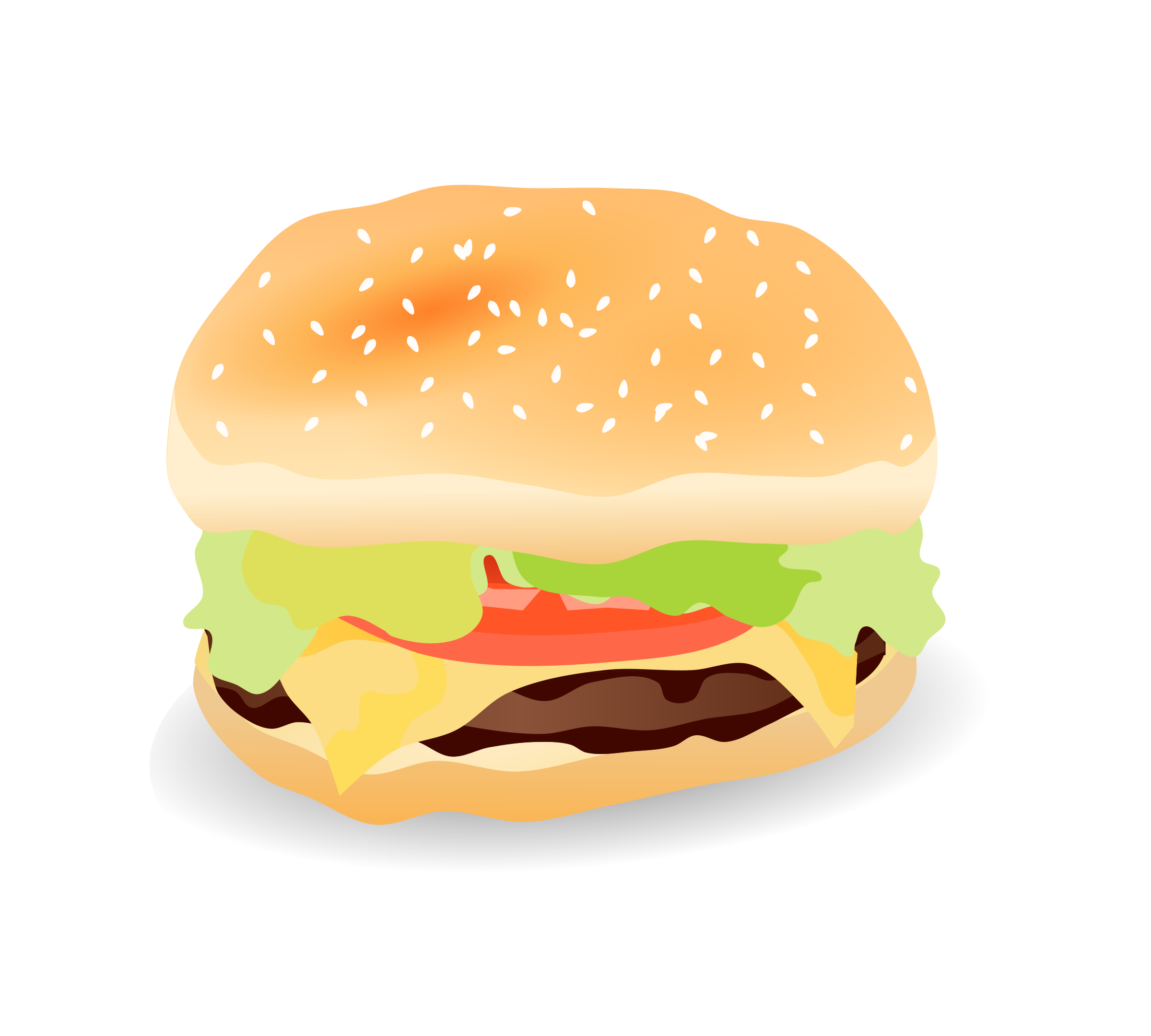 Cheeseburger clipart cheesburger.