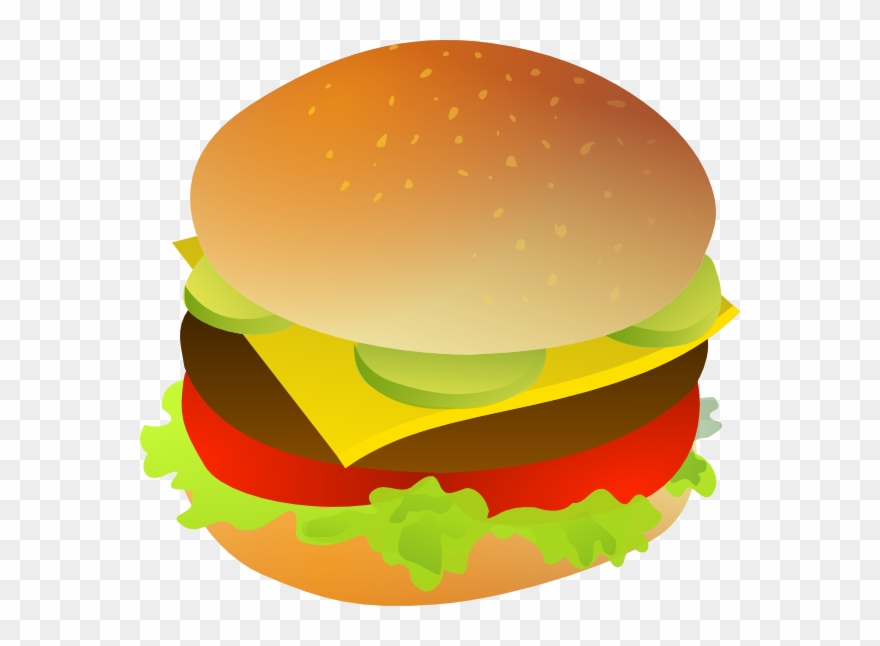 Cheeseburger clipart cheesburger. Transparent background hamburger clip