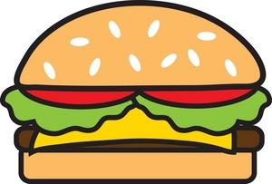 Clip art look at. Cheeseburger clipart cheesburger
