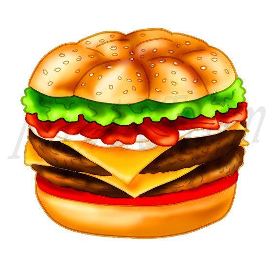 Clip art hamburger off. Cheeseburger clipart cheese burger