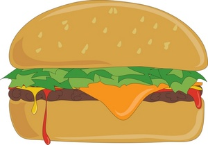 Cheeseburger clipart cheese burger. Free download best