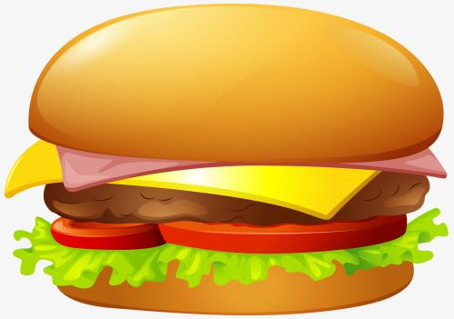 Bread hamburger slice of. Cheeseburger clipart cheese burger