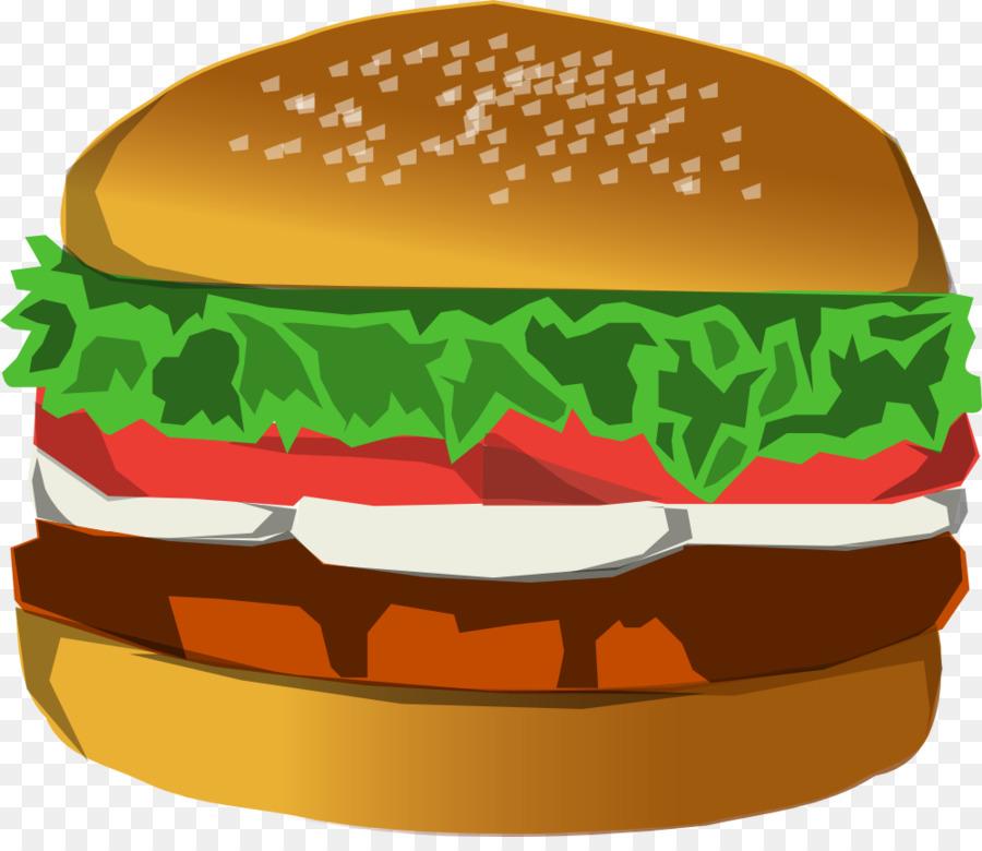 Cheeseburger clipart cheese roll. Hamburger fast food cinnamon