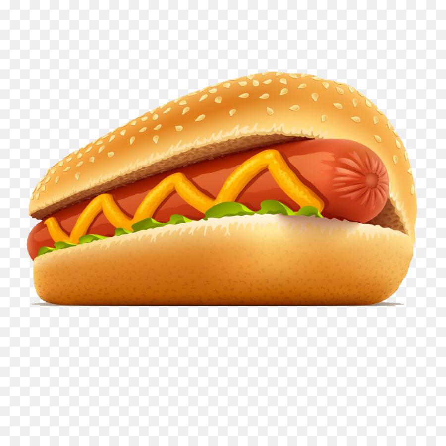 Hot dog hamburger fast. Cheeseburger clipart cheese roll