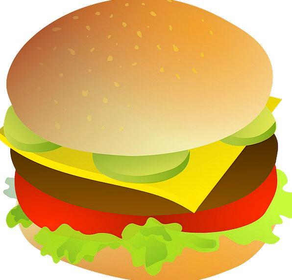 Drink essence food bun. Cheeseburger clipart cheese roll