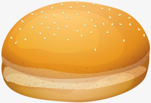 Bread rolls package bun. Cheeseburger clipart cheese roll