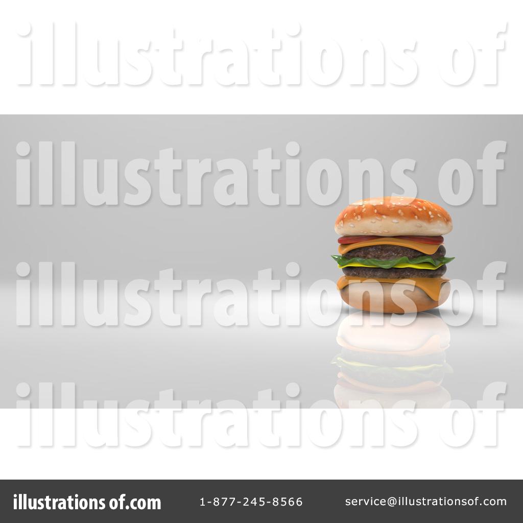 Illustration by julos royaltyfree. Cheeseburger clipart double cheeseburger