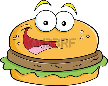 Cheeseburger clipart face. Burger cute clipground