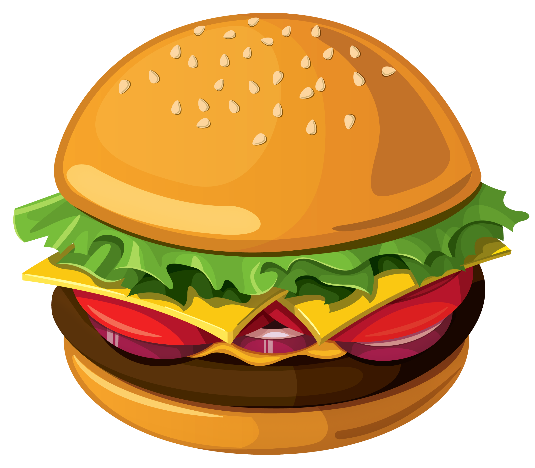 Cheeseburger clipart face. Burgers free download best