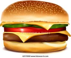 Love struck vector illustration. Cheeseburger clipart face