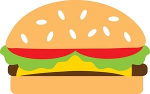 Burger clipart hambuger. Free hamburger image food