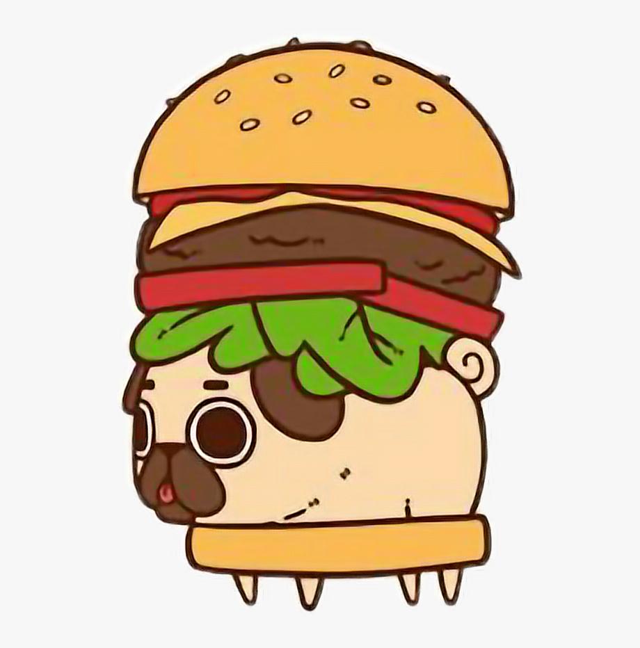 Drawing food puglie pug. Cheeseburger clipart mini burger