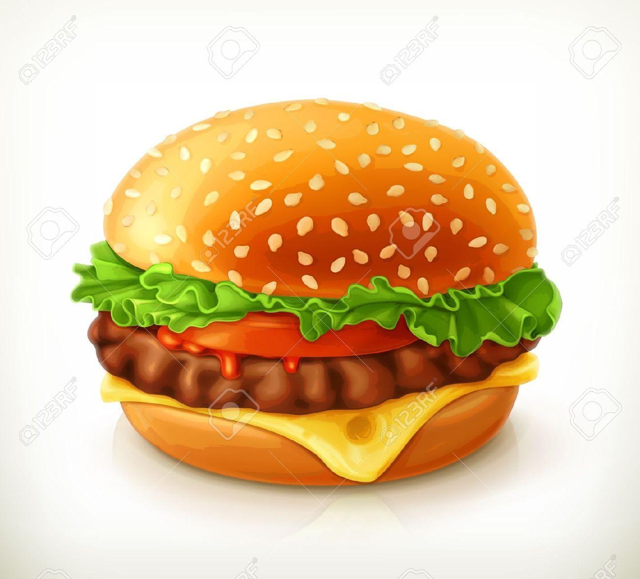 Cheeseburger simple burger