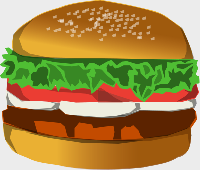 Cheeseburger clipart small hamburger. Free page of public
