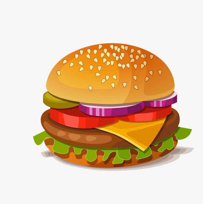Hamburg vector material burger. Cheeseburger clipart steak sandwich
